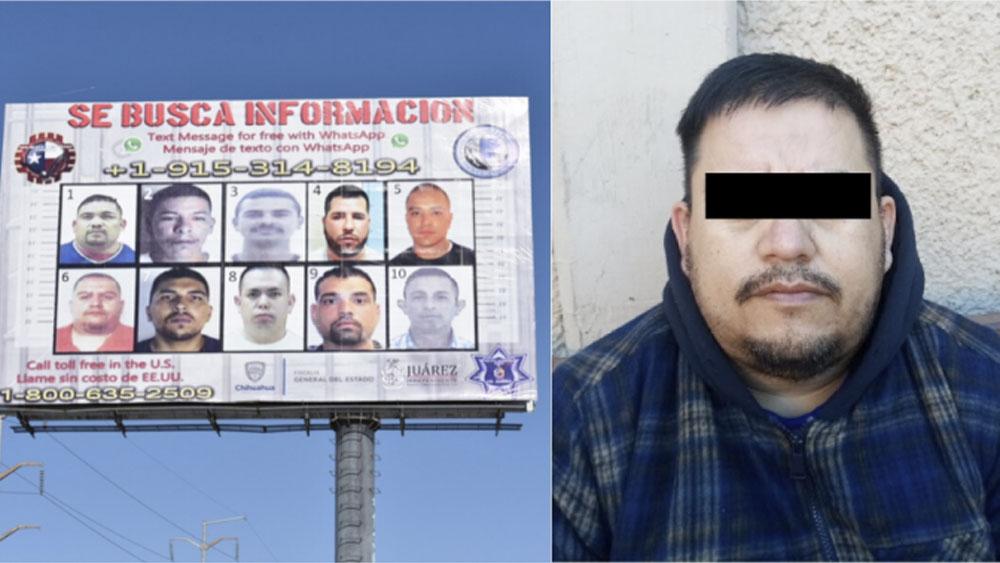 Capturan en Chihuahua a líder criminal de 'Los Aztecas' por feminicidio - Capturan en Chihuahua a líder criminal de 'Los Aztecas' por feminicidio