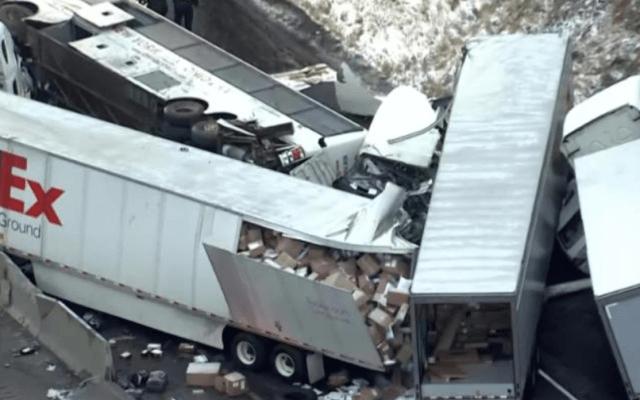 Carambola deja cinco muertos y 60 heridos en Pennsylvania - Foto de CNN