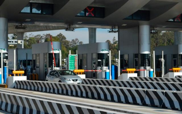 Aforo en autopistas creció 14.6 por ciento en vacaciones decembrinas - Caseta de alguna autopista en México. Foto de SCT