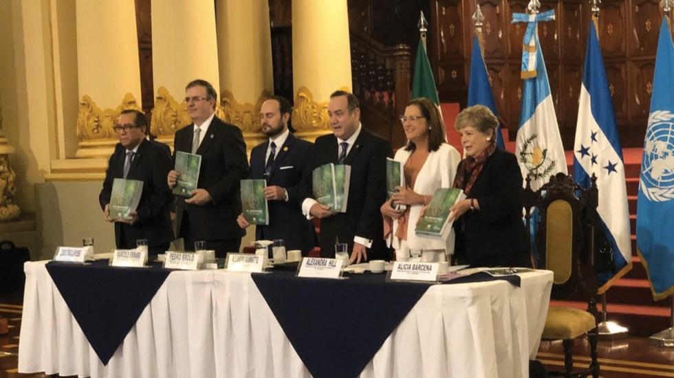 Cepal impulsará desarrollo en el triángulo norte de Centroamérica y México - Foto de @cepal_onu