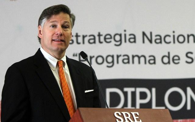 Seguridad y derechos humanos, prioridades en relación México-EE.UU., dijo Landau - Foto de Notimex