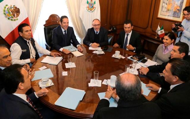 Conago y Gobierno Federal acuerdan revisar modelo de Mesas de Seguridad - Comisión de Seguridad y Justicia de la Conago. Foto de @Silvano_A