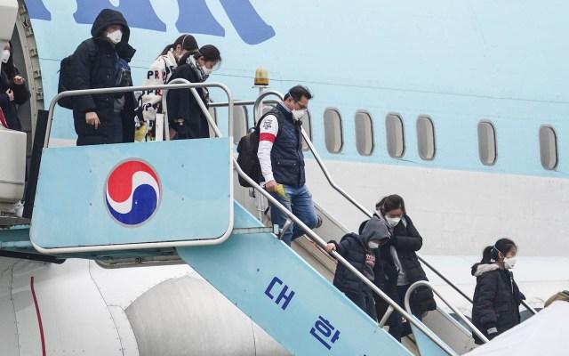 Corea del Sur completa evacuación de sus ciudadanos de Wuhan - Corea del Sur Wuhan ciudadanos evacuación