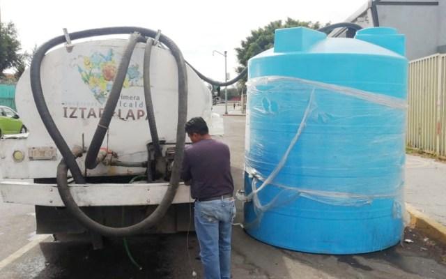 Corte de agua en Iztapalapa afecta 34 colonias y cuatro hospitales - Corte de agua en Iztapalapa afecta 34 colonias y cuatro hospitales