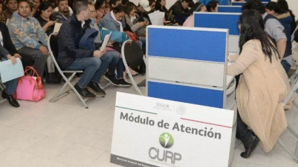 Cientos de mexicanos reportan desaparición de sus CURP - CURP Segob oficinas