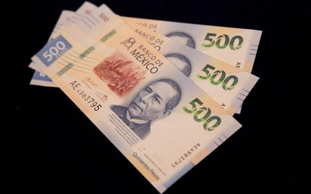 Anticipa AMLO aumento de la recaudación en mayo - banxico Dinero México pesos peso billetes