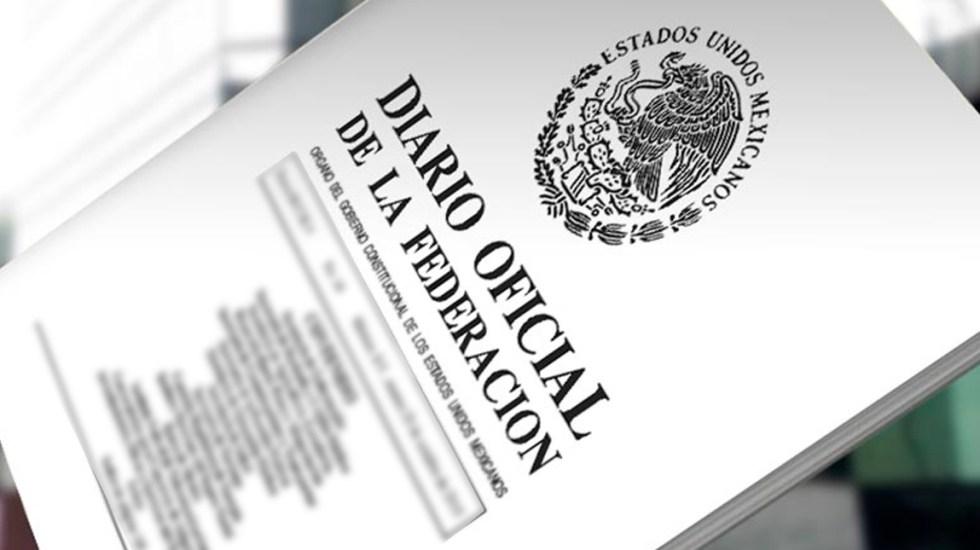 SAE es oficialmente el Instituto para Devolver al Pueblo lo Robado - DOF publica decreto del cambio de nombre a Instituto para Devolver al Pueblo lo Robado