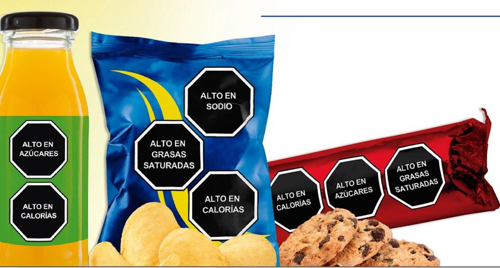 Gobierno Federal aplaza hasta diciembre nuevo etiquetado de alimentos - Ejemplo de etiquetados claros. Foto de etiquetadosclaros.org