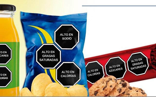 Sector privado celebra alta participación en consulta de etiquetado de alimentos - Ejemplo de etiquetados claros. Foto de etiquetadosclaros.org