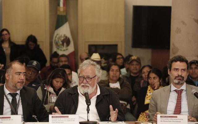 Encinas confía que Comisión del caso Ayotzinapa presente resultados en corto tiempo - Foto de Twitter Alejandro Encinas