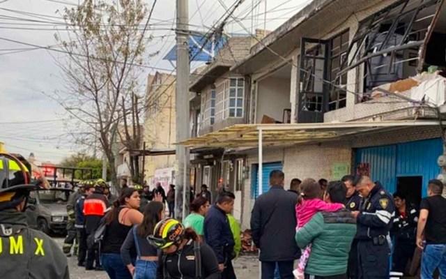 Explosión de gas en vivienda de la GAM deja dos heridos - Explosión de gas en vivienda de la GAM deja dos heridos