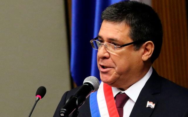 Aceptan en Brasil denuncia contra expresidente paraguayo por caso Lava Jato - Expresidente paraguayo Horacio Cartes. Foto de EFE
