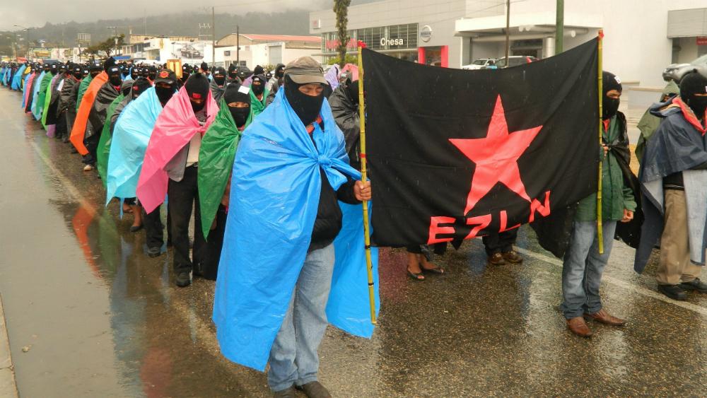 EZLN convoca a movilizaciones en febrero por la defensa de la tierra - Foto de EFE