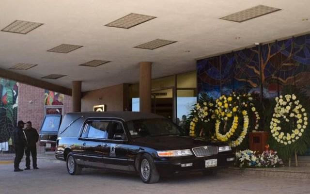 Dan último adiós a niño que abrió fuego en colegio de Torreón - Funeraria donde se realizó el velorio del niño que desató tiroteo en el Colegio Cervantes. Foto de El Sol de La Laguna