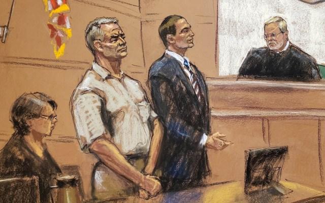 Expolicía vinculado a García Luna se declara inocente; le imputan más cargos - Genaro García Luna tribunal Estados Unidos
