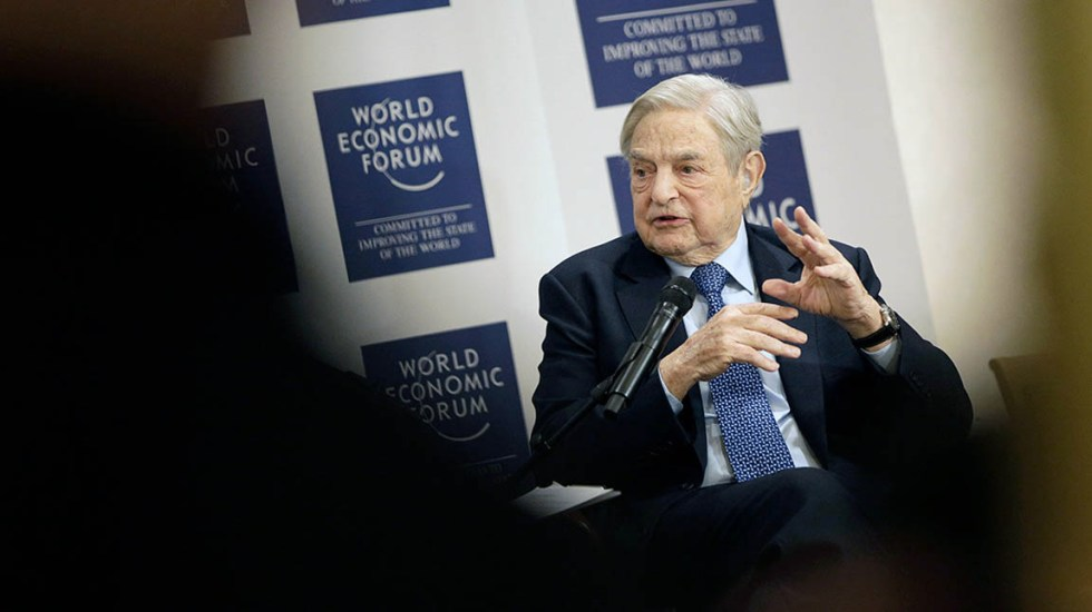 Soros anuncia una red mundial de universidades contra el autoritarismo - George Soros