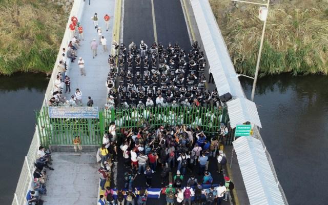 """Rechaza Encinas que México sea un """"muro"""" de Estados Unidos - Foto de EFE"""