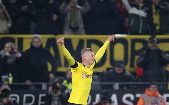 Haaland hace doblete en la goleada del Borussia Dortmund al Colonia - Foto de EFE