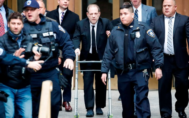 Acusan formalmente a Harvey Weinstein de violación y agresión sexual - Harvey Weinstein. Foto de EFE