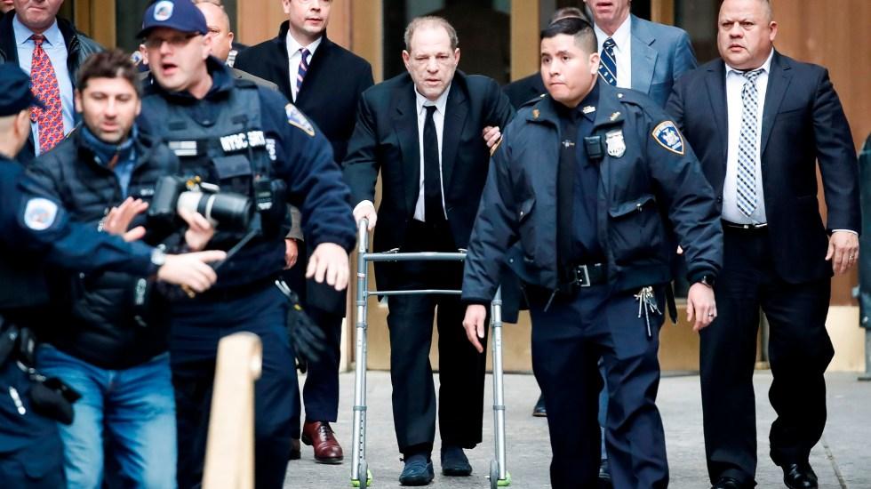 Acusan formalmente a Harvey Weinstein de violación y agresión sexual - Harvey Weinstein. Foto de EFE