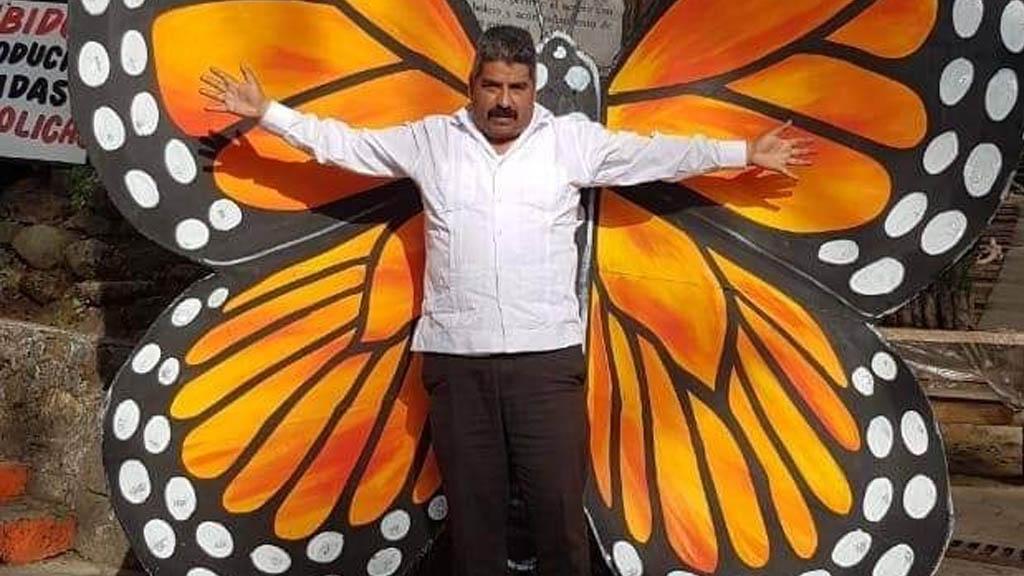 Hallan muerto a defensor de la mariposa monarca en Michoacán - Homero Gómez González activista Michoacán Mariposa Monarca