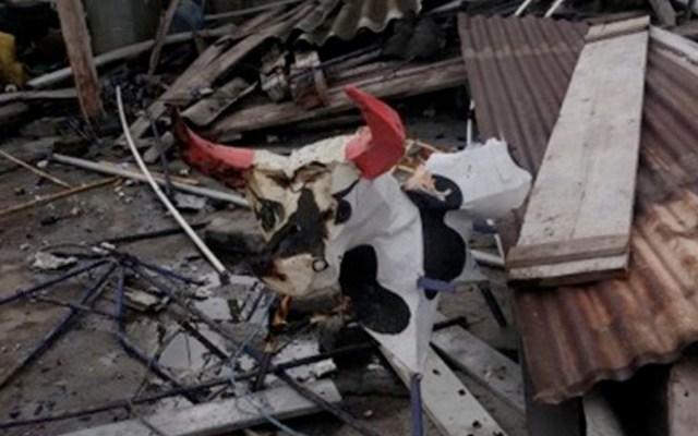 Incendio por pirotecnia deja cuatro heridos en Coyoacán - Incendio por pirotecnia deja cuatro heridos en Coyoacán