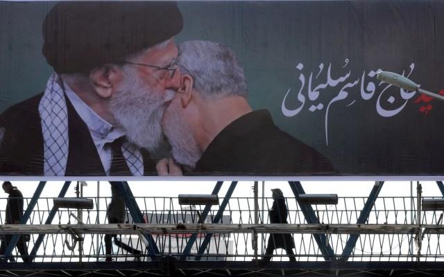 Pentágono admite no tener pruebas de que Soleimani fuera a atacar 4 embajadas - Irán aconseja a EE. UU. que retire sus tropas de Oriente Medio. Foto de EFE/ Abedin Taherkenareh.