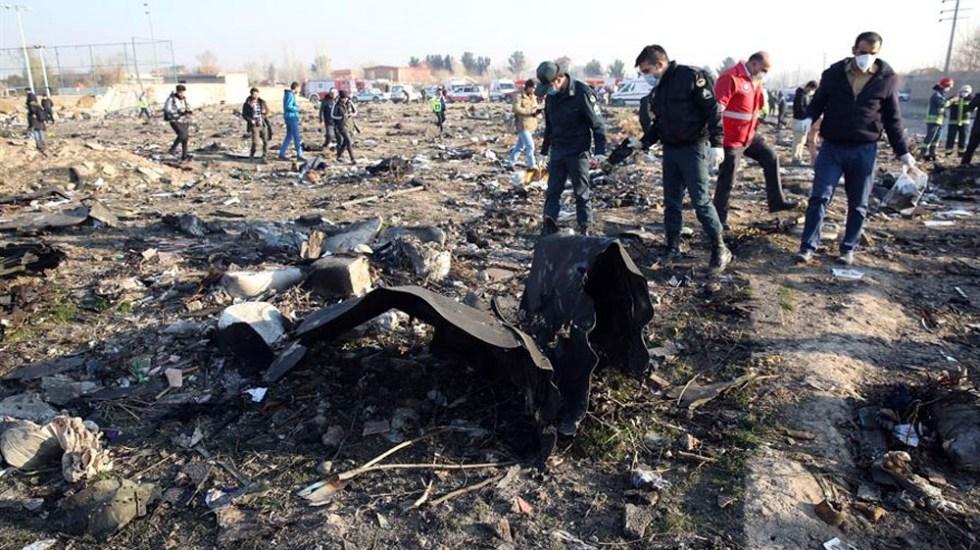 Video verificado por NYT muestra impacto de misiles contra avión ucraniano en Irán - Irán señala que confundió avión ucraniano con misil de crucero