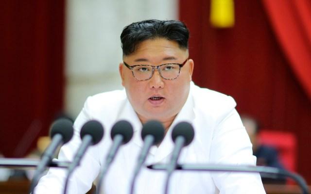 Trump felicita a Kim Jong-un por su cumpleaños - Líder de Corea del Norte, Kim Jong-un. Foto de EFE