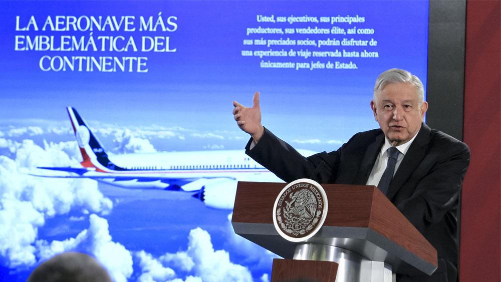Las cinco opciones de López Obrador para vender el avión presidencial