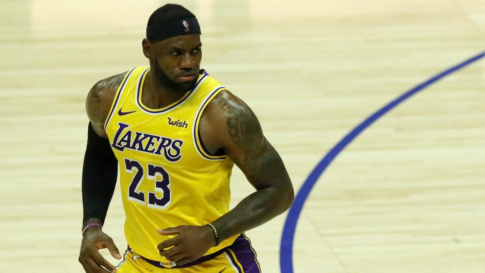Camiseta de LeBron James sigue siendo la más vendida en la NBA - Foto de EFE
