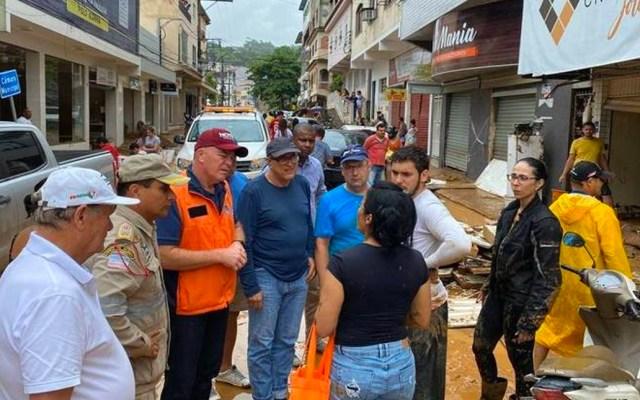 Al menos cinco muertos por lluvias en el sureste de Brasil - Al menos cinco muertos dejan lluvias en el sureste de Brasil