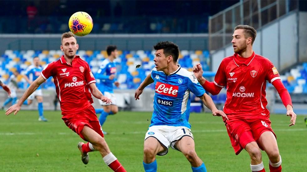 Hirving Lozano regresa a la titularidad en victoria del Napoli - Hirving Lozano regresa a la titularidad en victoria del Napoli