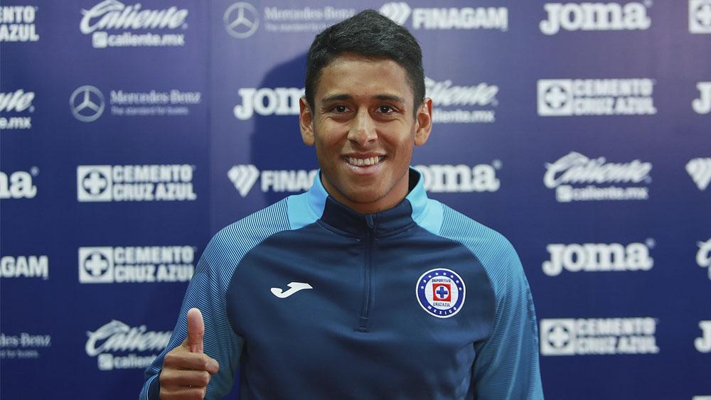 Un sueño cumplido volver a Cruz Azul, asegura Luis Romo - Un sueño cumplido volver a Cruz Azul, asegura Luis Romo