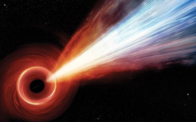 Agujero negro expulsa partículas a la velocidad de la luz - Foto de NASA