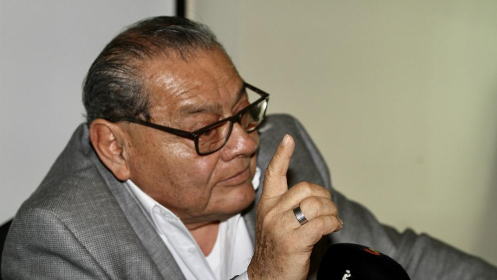 Es falso reconocimiento a líder sindical petrolero, apuntó Luisa María Alcalde - Mario Rubicel. Foto de Notimex