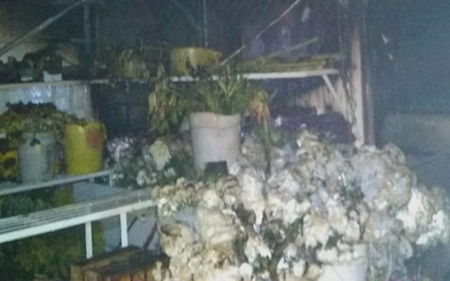 Incendio en Mercado de las Flores de Xochimilco consume 12 locales - Mercado de las Flores de Xochimilco. Foto de @SGIRPC_CDMX