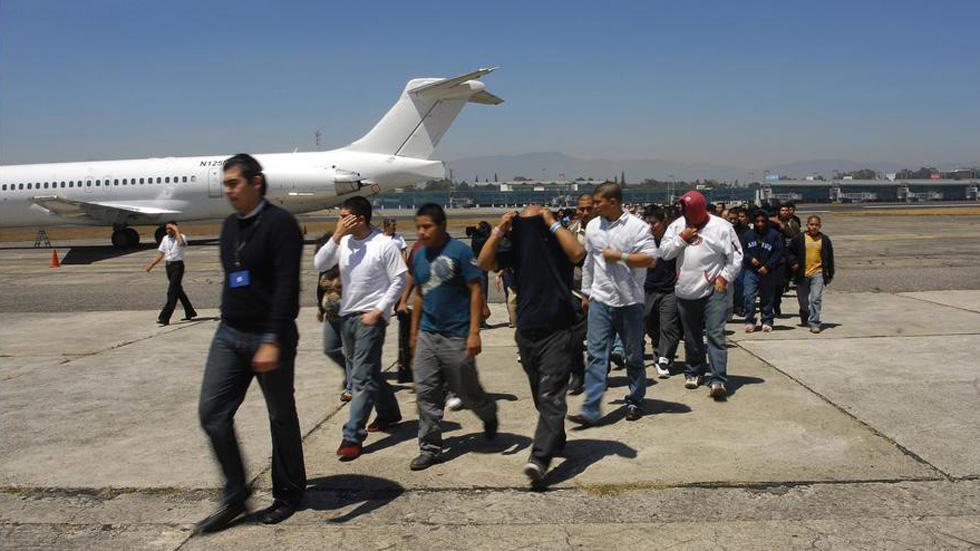 Bajan deportaciones de guatemaltecos desde EE.UU. por COVID-19 - Migrantes guatemaltecos deportados de EE.UU. Foto de Soy 502 / Archivo