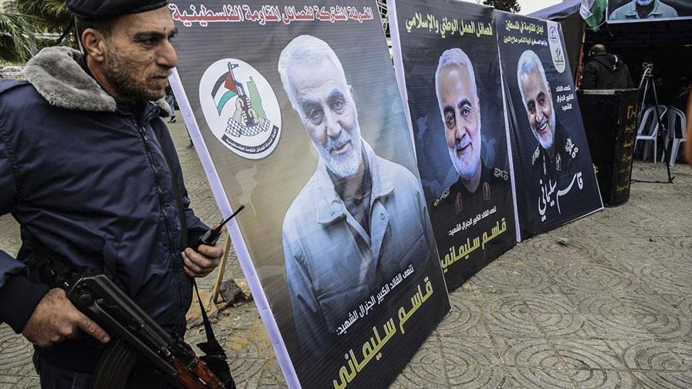 Milicias chiíes demuestran fuerza en funerales tras asesinato de Soleimani - Milicias chiíes demuestran fuerza en funerales tras asesinato de Soleimani