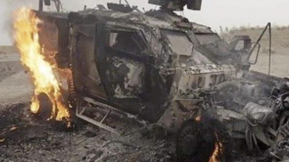 Explosión en Afganistán deja 2 soldados estadounidenses sin vida