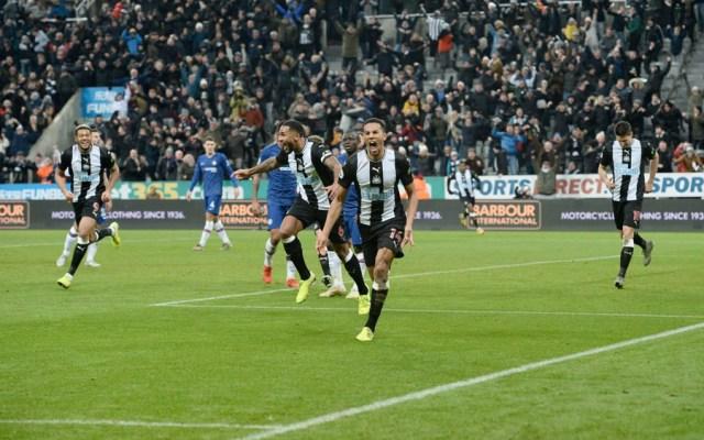 Newcastle vence al Chelsea con gol de último minuto - Newcastle vence al Chelsea con gol de último minuto