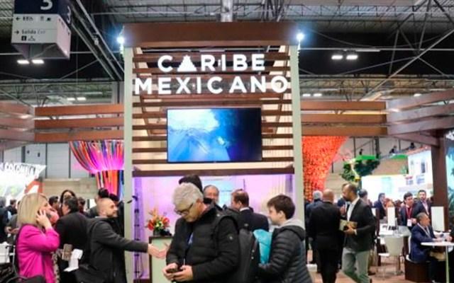 Funcionarios mexicanos concluyen participación en Fitur de Madrid - Pabellón de México en la Fitur Madrid. Foto de @TorrucoTurismo