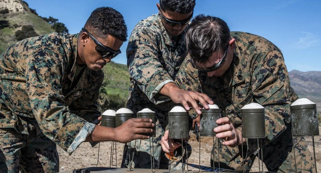 Pendleton explosivos soldados