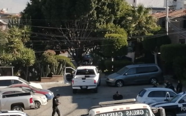 Hombre dispara contra policías en Tijuana - Foto de Zeta Tijuana