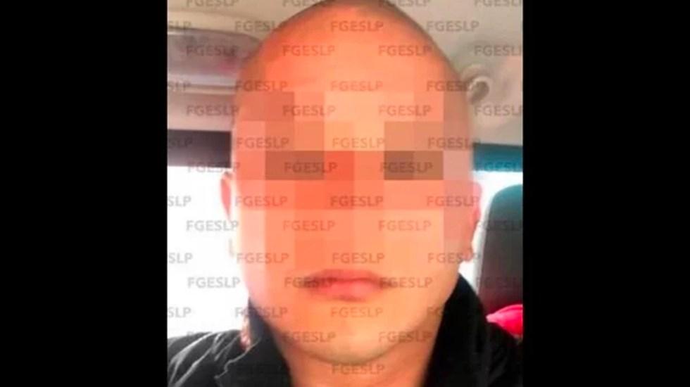 Detienen al presunto asesino del exdirigente priista Aurelio Gancedo - En San Luis Potosí fue detenido Juan Carlos 'N', de 32 años, por su probable participación en el homicidio de Aurelio Gancedo Rodríguez