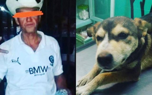Vinculan a proceso en Nezahualcóyotl a violador de perra - Presunto violador de la perrita Mati. Foto de @LaCamadaNitinNeza