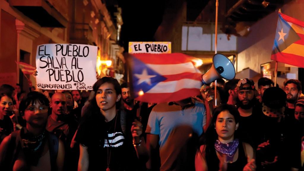 Protestan para pedir la dimisión de gobernadora de Puerto Rico - Foto de EFE
