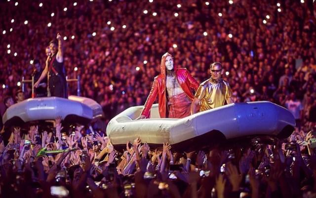 Rammstein confirma concierto en México este 2020 - Rammstein en concierto. Foto de @rammsteinofficial