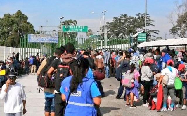 Refuerzan seguridad en Tecún Umán, Guatemala; migrantes intentan cruzar a México - Refuerzan seguridad en Tecún Umán, Guatemala; migrantes intentan cruzar a México