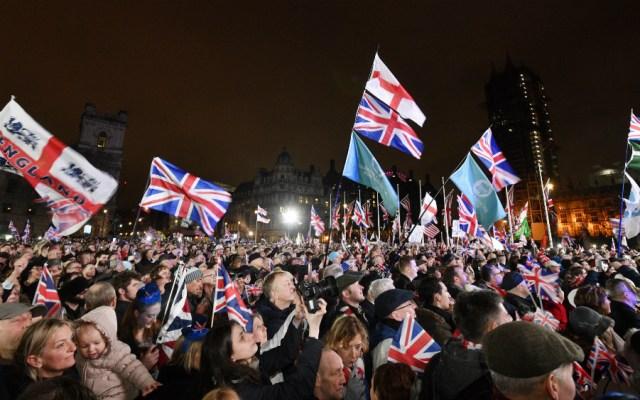 Reino Unido sale oficialmente de la Unión Europea - Foto de EFE